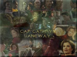 Voyager - Bemanning = Katryn Janeway 1