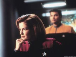 Voyager - Bemanning = Katryn Janeway 10