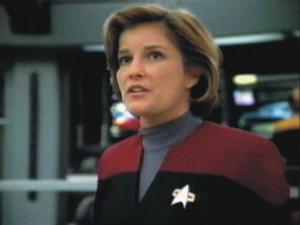Voyager - Bemanning = Katryn Janeway 11