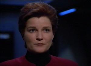 Voyager - Bemanning = Katryn Janeway 12