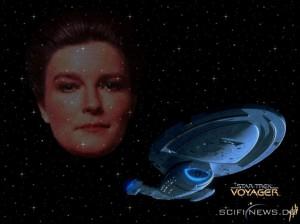 Voyager - Bemanning = Katryn Janeway 13