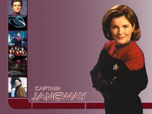 Voyager - Bemanning = Katryn Janeway 3