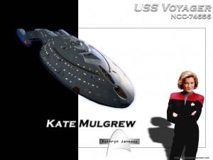 Voyager - Bemanning = Katryn Janeway 4