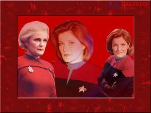 Voyager - Bemanning = Katryn Janeway 5