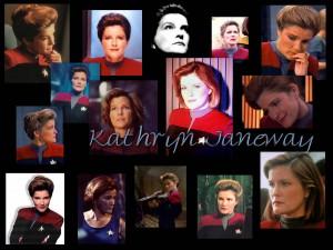 Voyager - Bemanning = Katryn Janeway 6