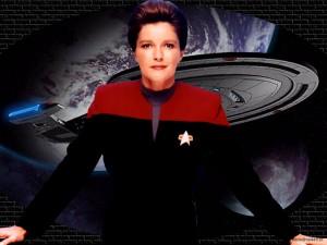 Voyager - Bemanning = Katryn Janeway 7