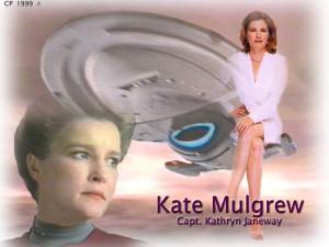 Voyager - Bemanning = Katryn Janeway 9